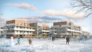 mieszkania na sprzedaż - zima