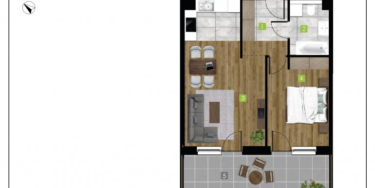 mieszkania na sprzedaż rzeszów  - budynek C - nr 2
