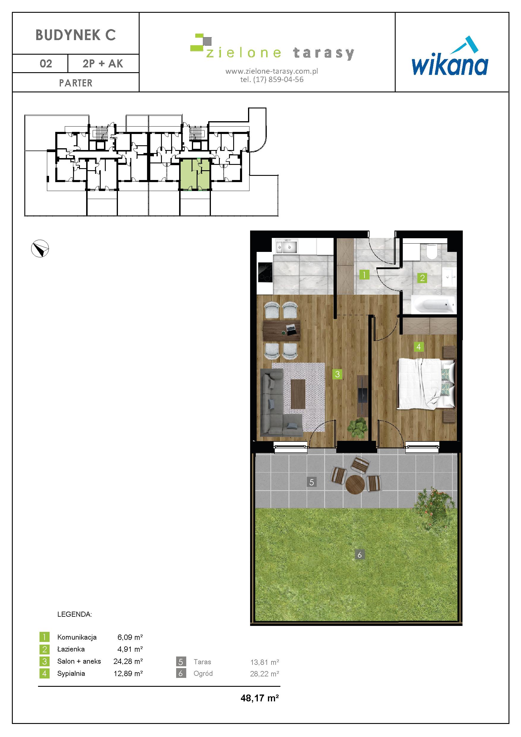 sprzedaż mieszkań rzeszów - C-02