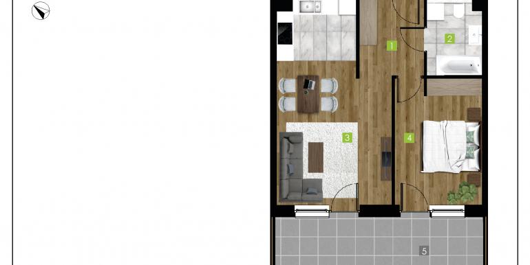 mieszkania na sprzedaż rzeszów  - budynek D - nr 3