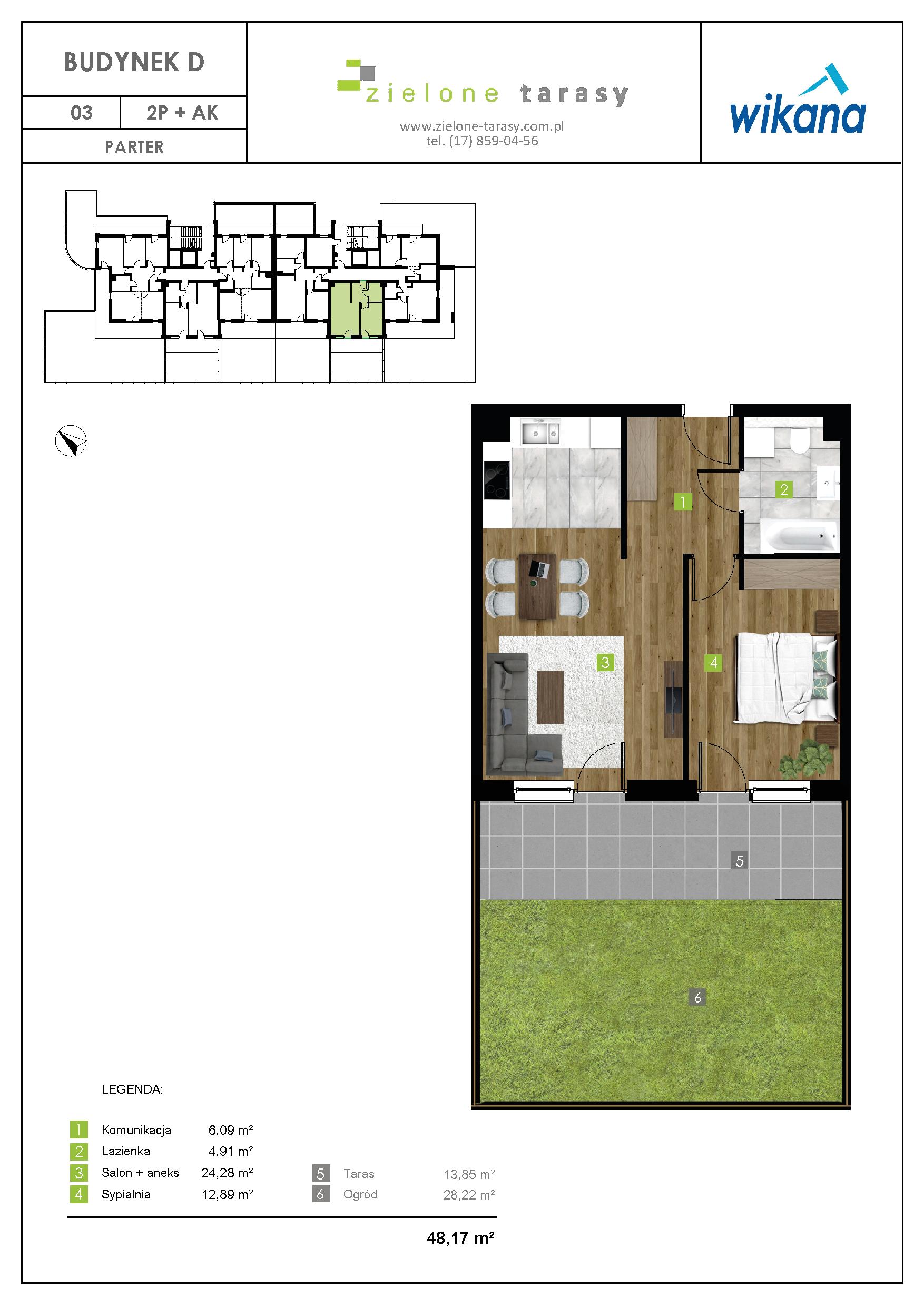 sprzedaż mieszkań rzeszów - D-03