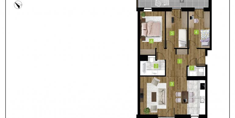 mieszkania na sprzedaż rzeszów  - budynek C - nr 3