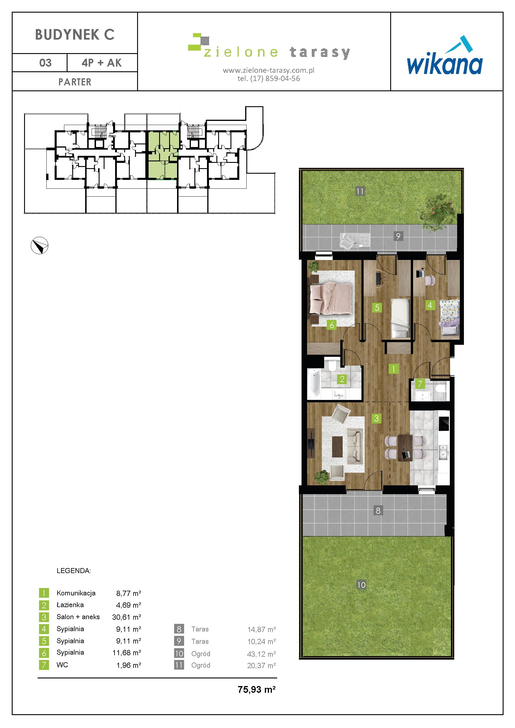 sprzedaż mieszkań rzeszów - C-03