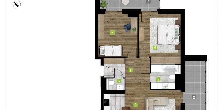 mieszkania na sprzedaż rzeszów  - budynek D - nr 5