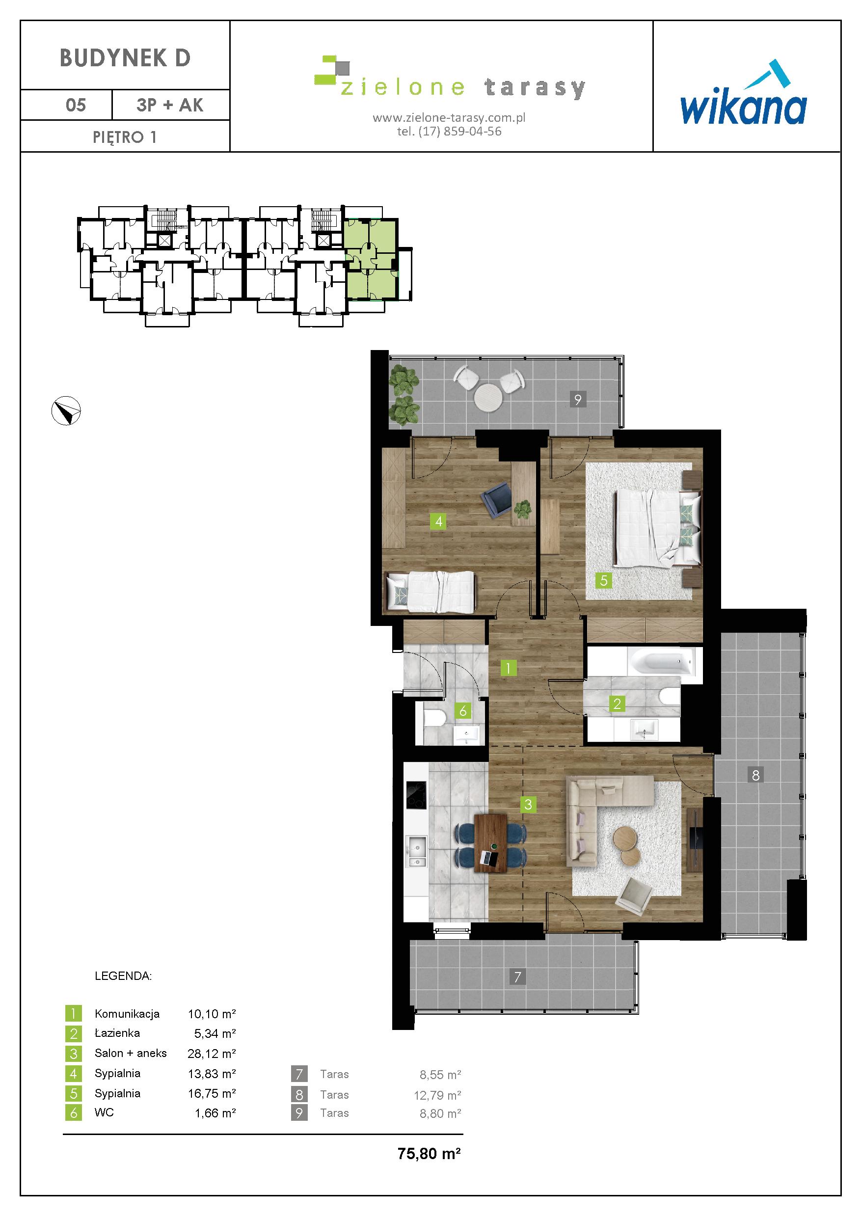 sprzedaż mieszkań rzeszów - D-05