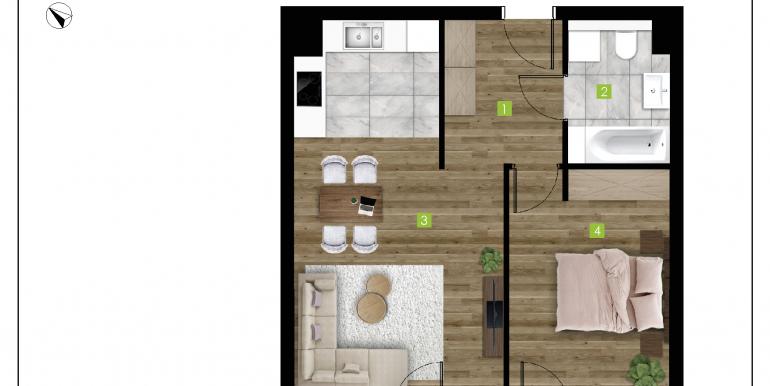 mieszkania na sprzedaż rzeszów  - budynek D - nr 6
