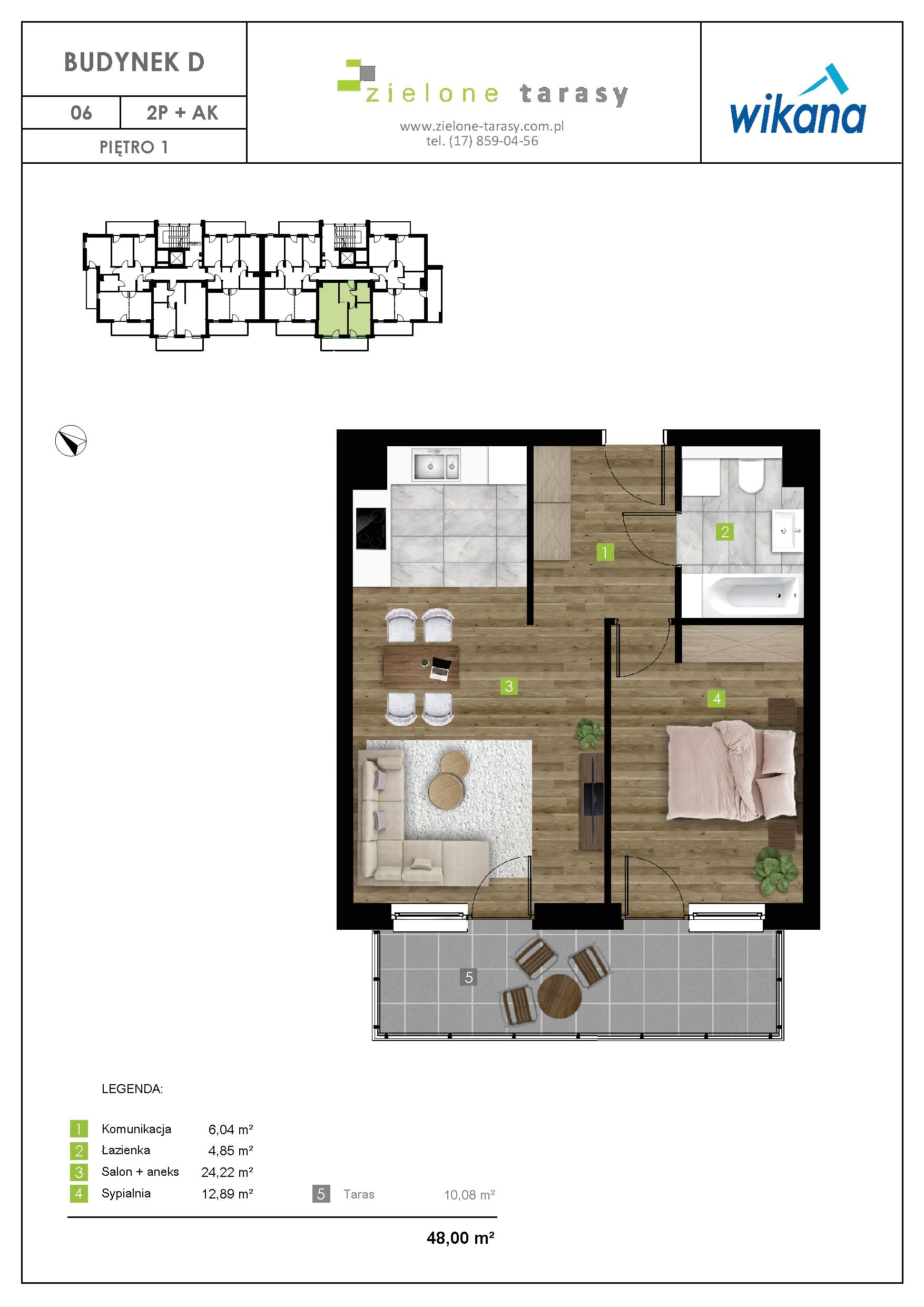 sprzedaż mieszkań rzeszów - D-06
