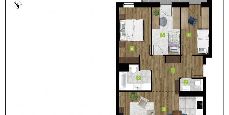 mieszkania na sprzedaż rzeszów  - budynek C - nr 6