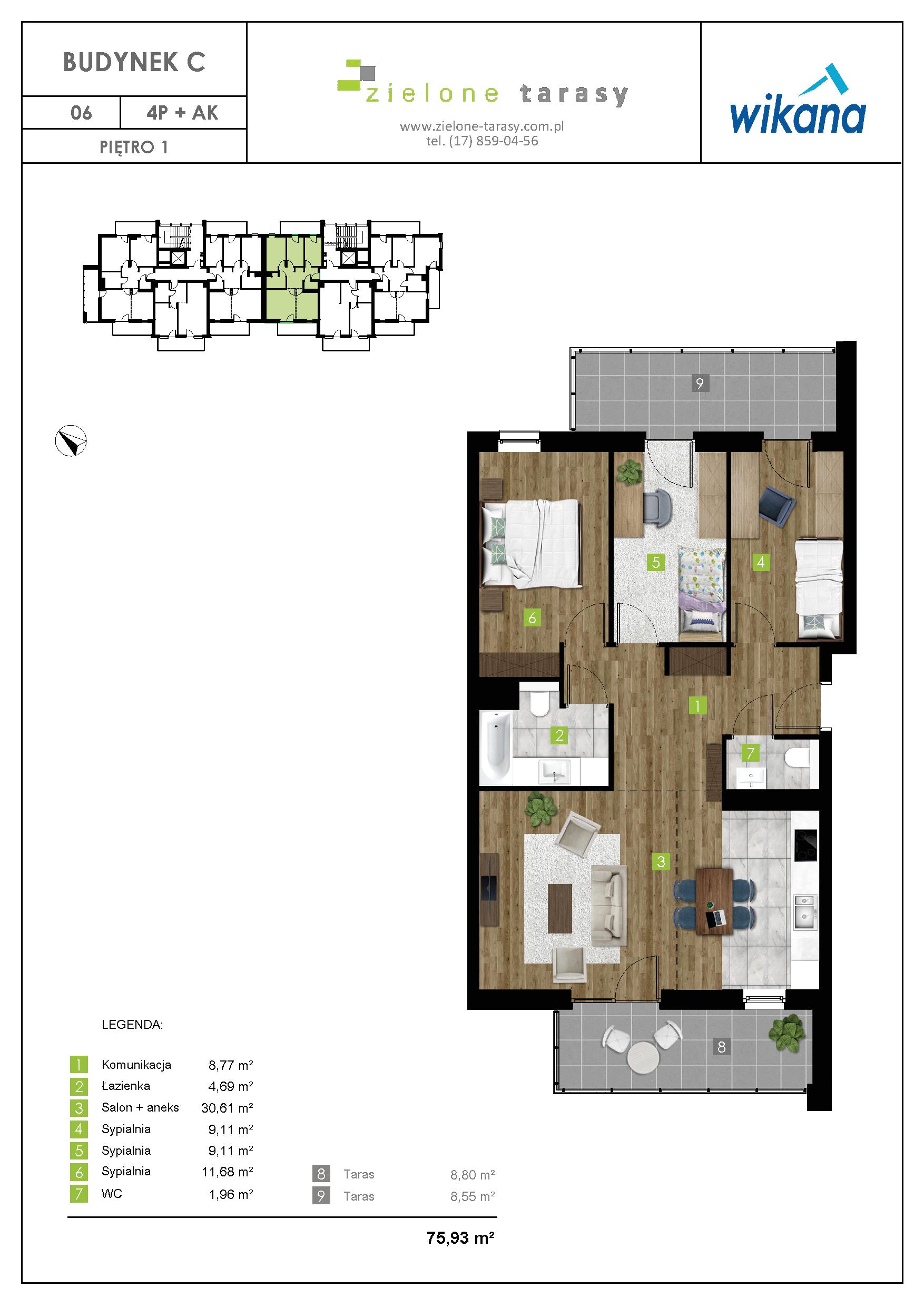 sprzedaż mieszkań rzeszów - C-06