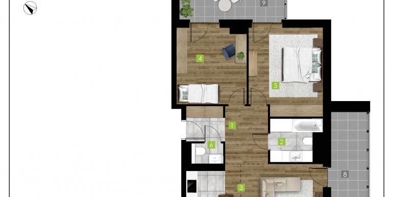 mieszkania na sprzedaż rzeszów  - budynek D - nr 8