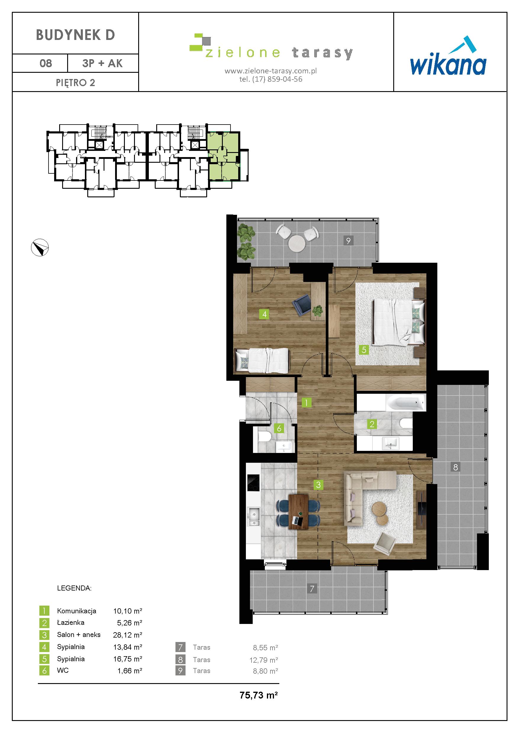 sprzedaż mieszkań rzeszów - D-08