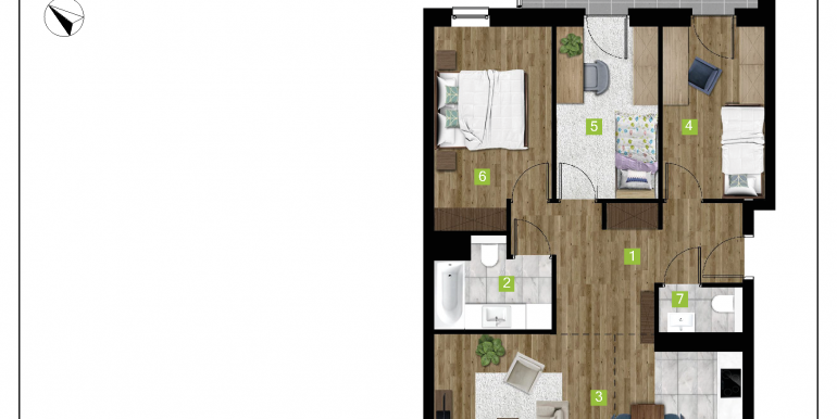 mieszkania na sprzedaż rzeszów  - budynek C - nr 9