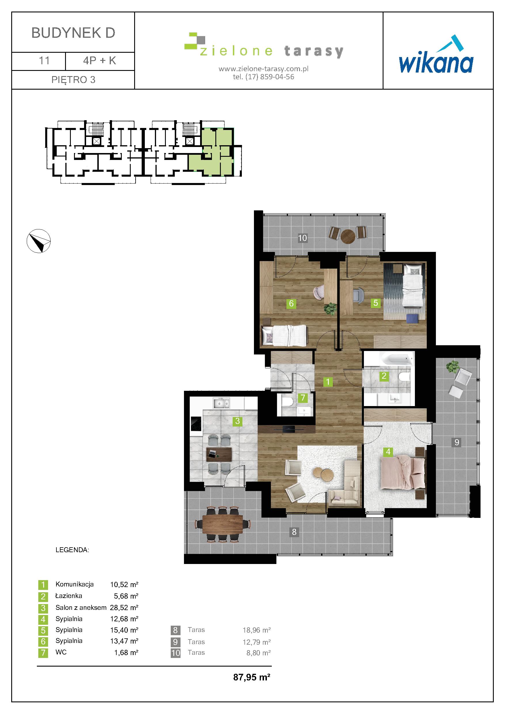 sprzedaż mieszkań rzeszów - D-11