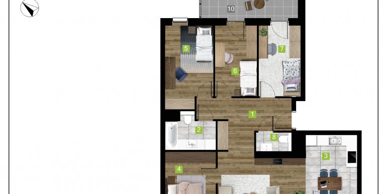 mieszkania na sprzedaż rzeszów  - budynek D - nr 12