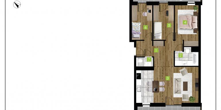 mieszkania na sprzedaż rzeszów  - budynek D - nr 13