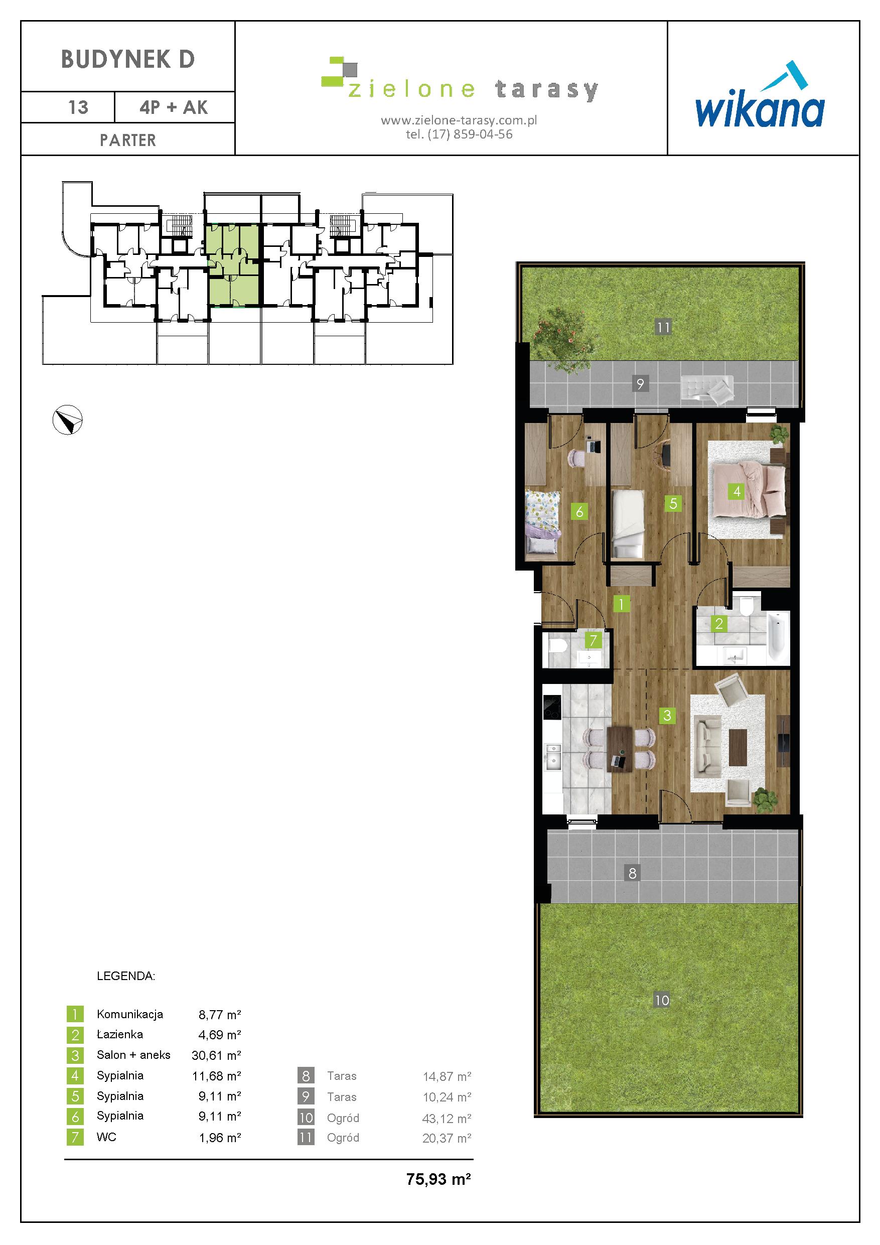 sprzedaż mieszkań rzeszów - D-13