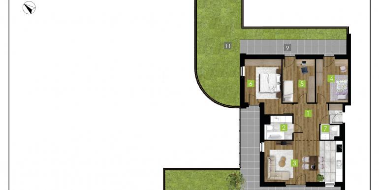 mieszkania na sprzedaż rzeszów  - budynek D - nr 15