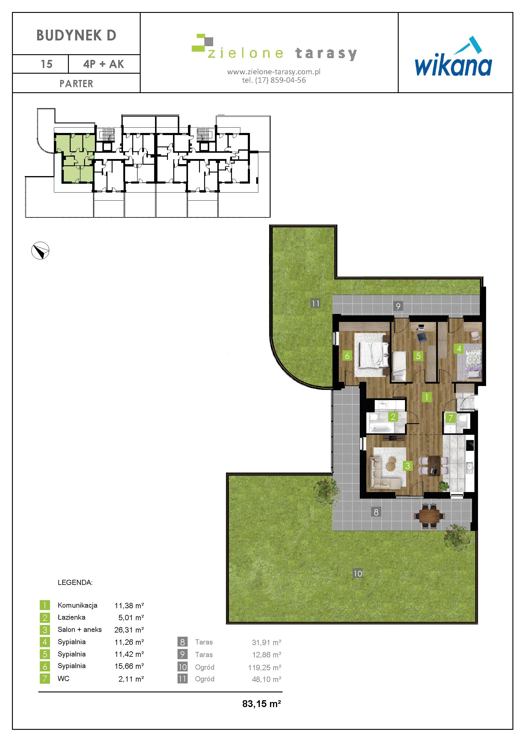 sprzedaż mieszkań rzeszów - D-15