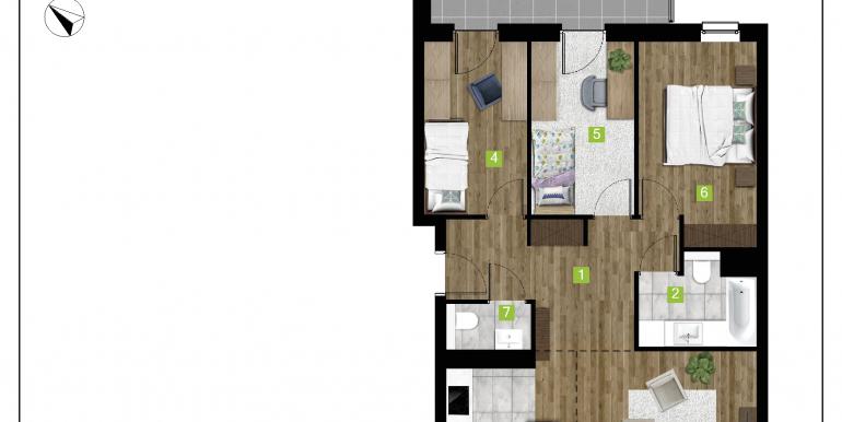 mieszkania na sprzedaż rzeszów  - budynek D - nr 16