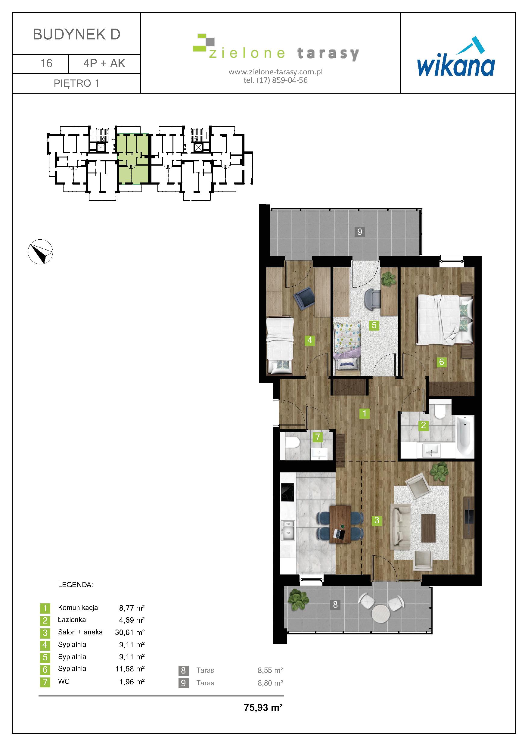 sprzedaż mieszkań rzeszów - D-16
