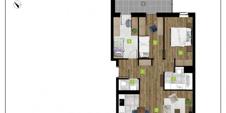 mieszkania na sprzedaż rzeszów  - budynek C - nr 16