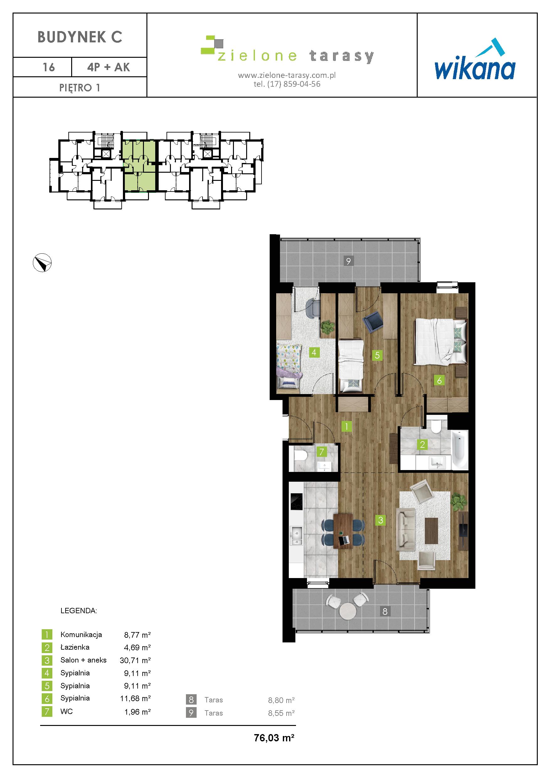 sprzedaż mieszkań rzeszów - C-16