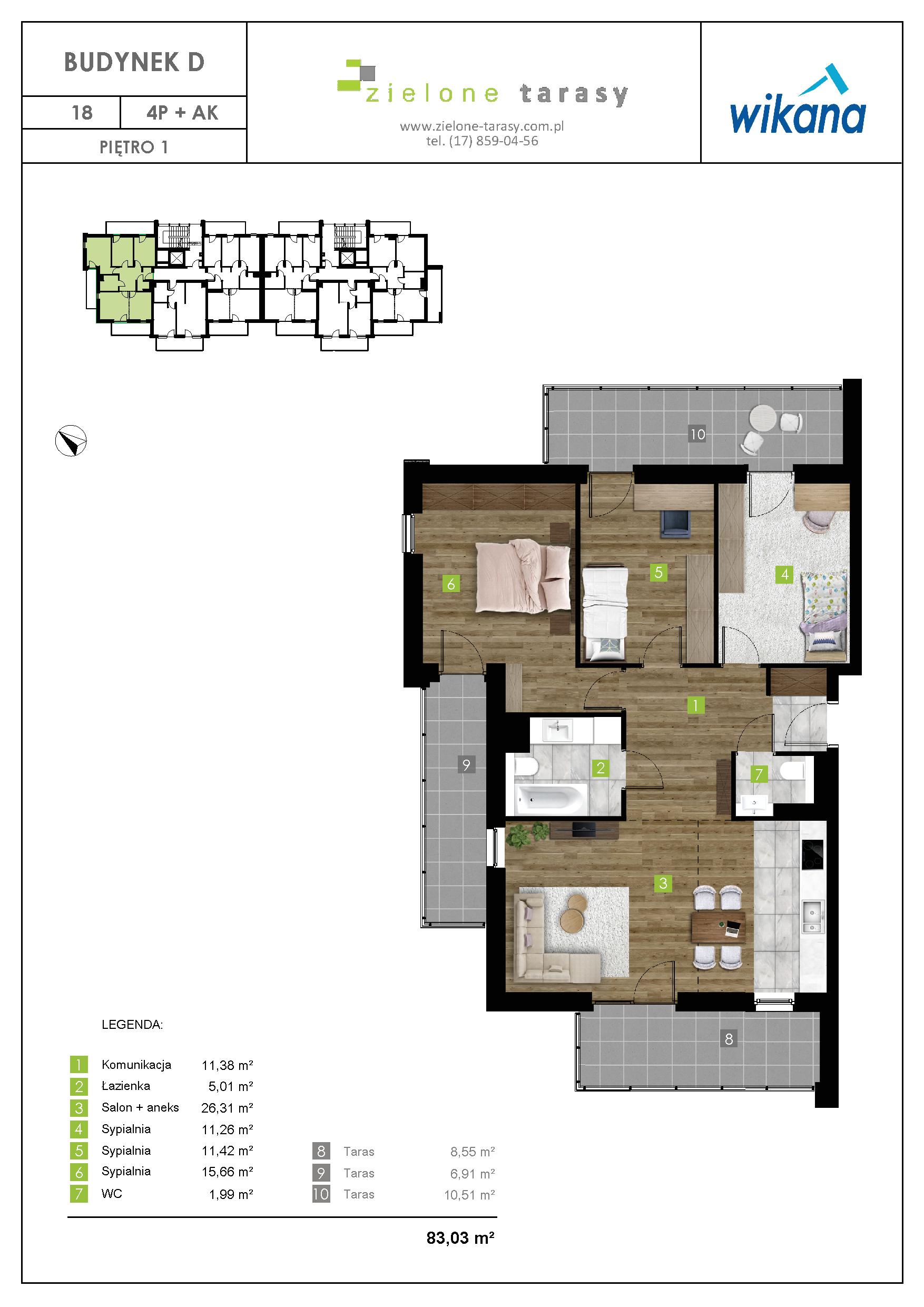 sprzedaż mieszkań rzeszów - D-18