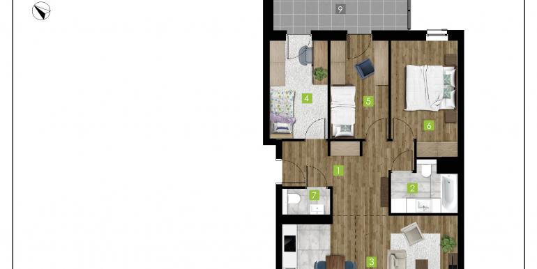 mieszkania na sprzedaż rzeszów  - budynek C - nr 19