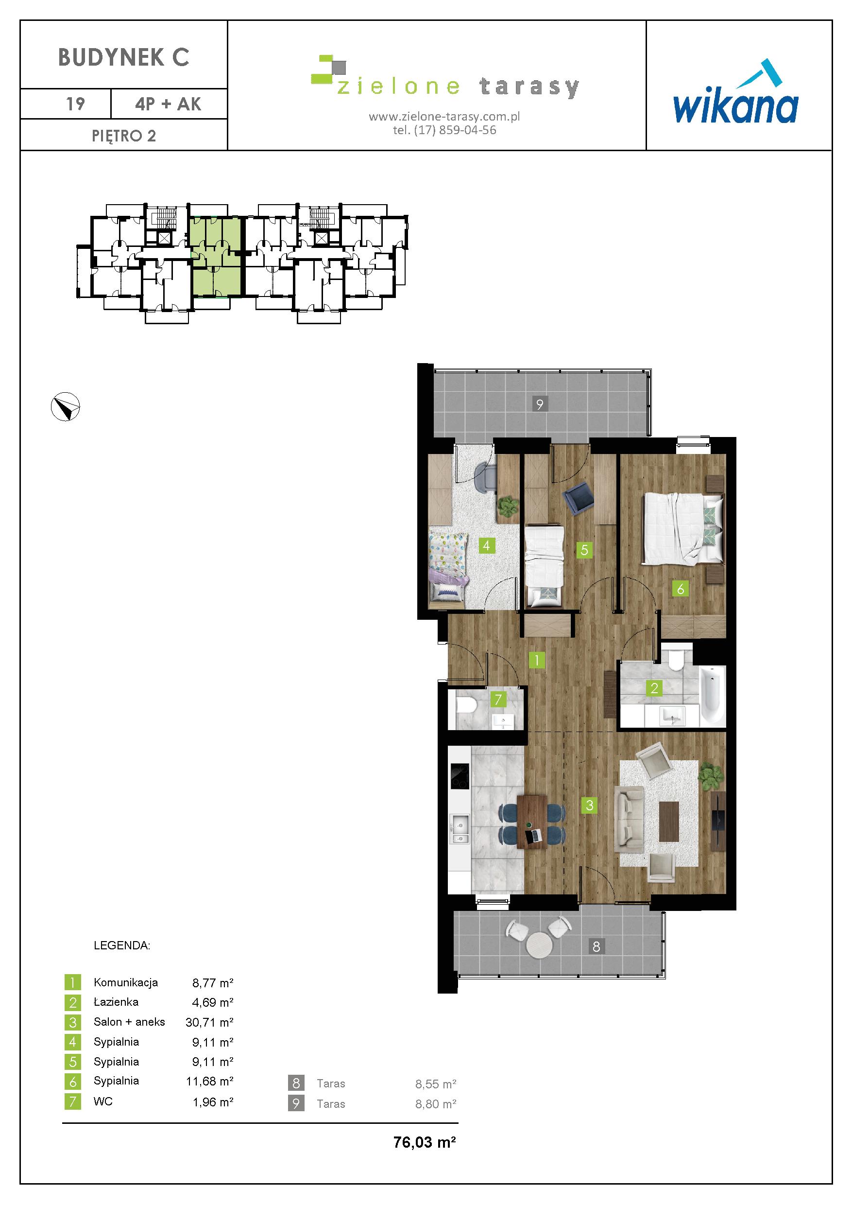 sprzedaż mieszkań rzeszów - C-19