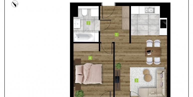 mieszkania na sprzedaż rzeszów  - budynek C - nr 20