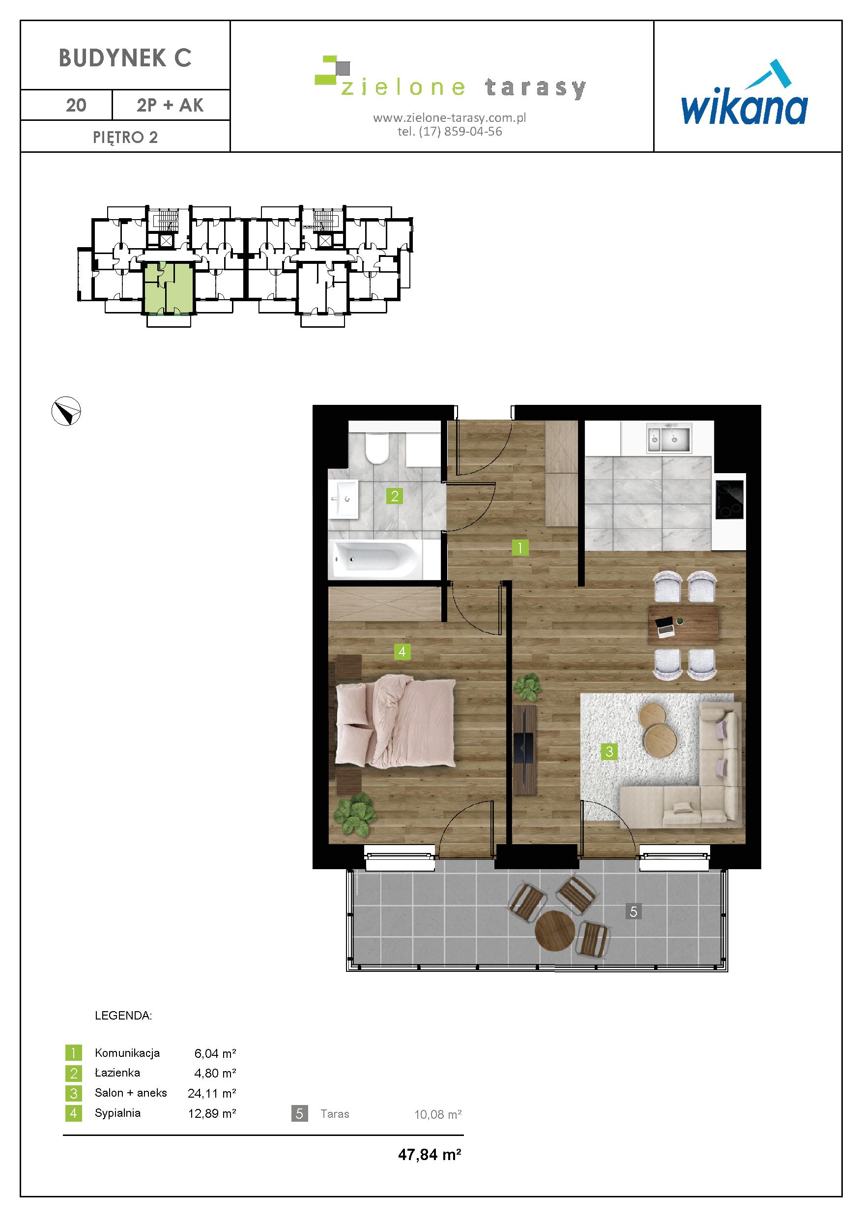 sprzedaż mieszkań rzeszów - C-20