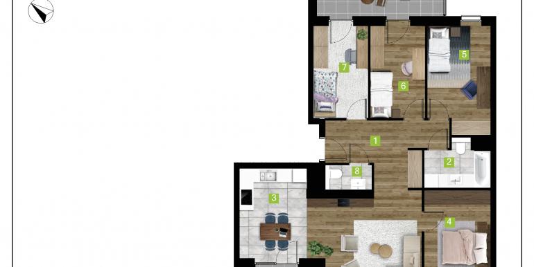 mieszkania na sprzedaż rzeszów  - budynek C - nr 22