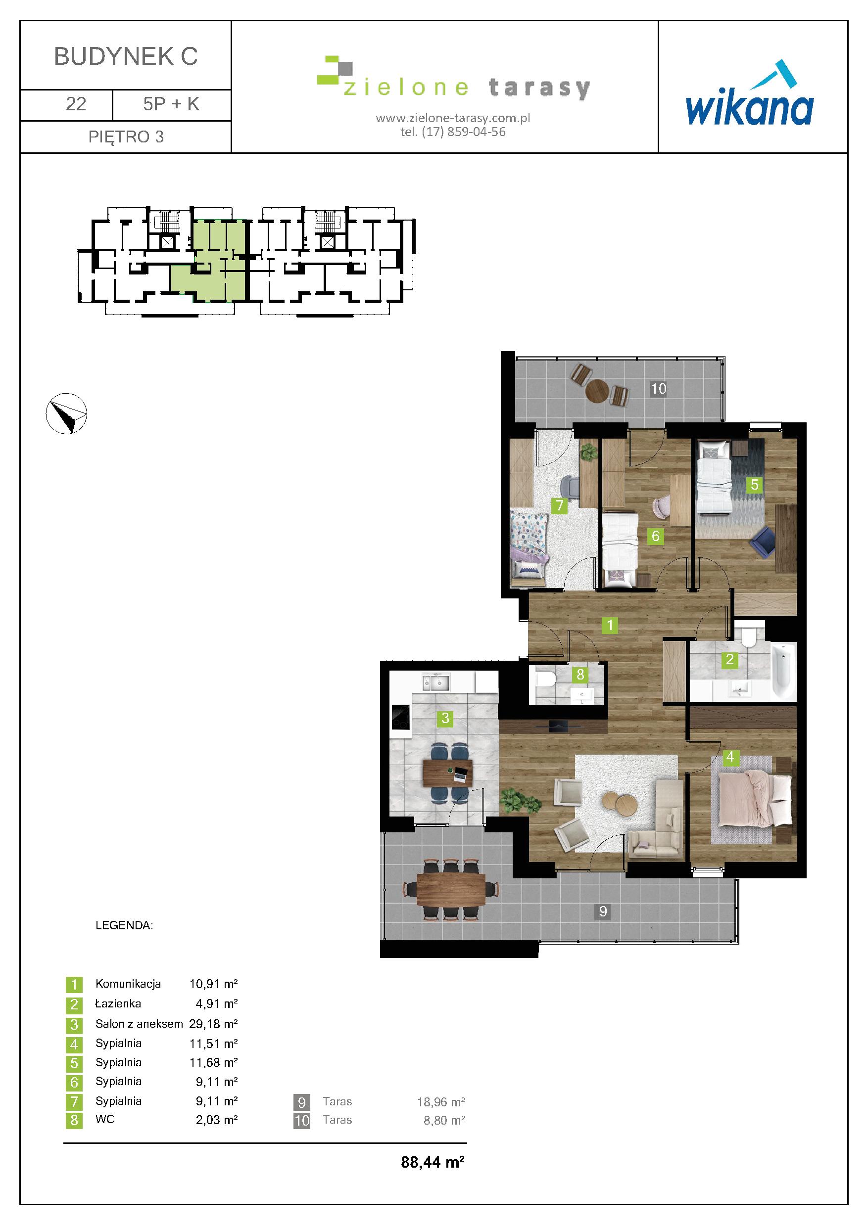 sprzedaż mieszkań rzeszów - C-22
