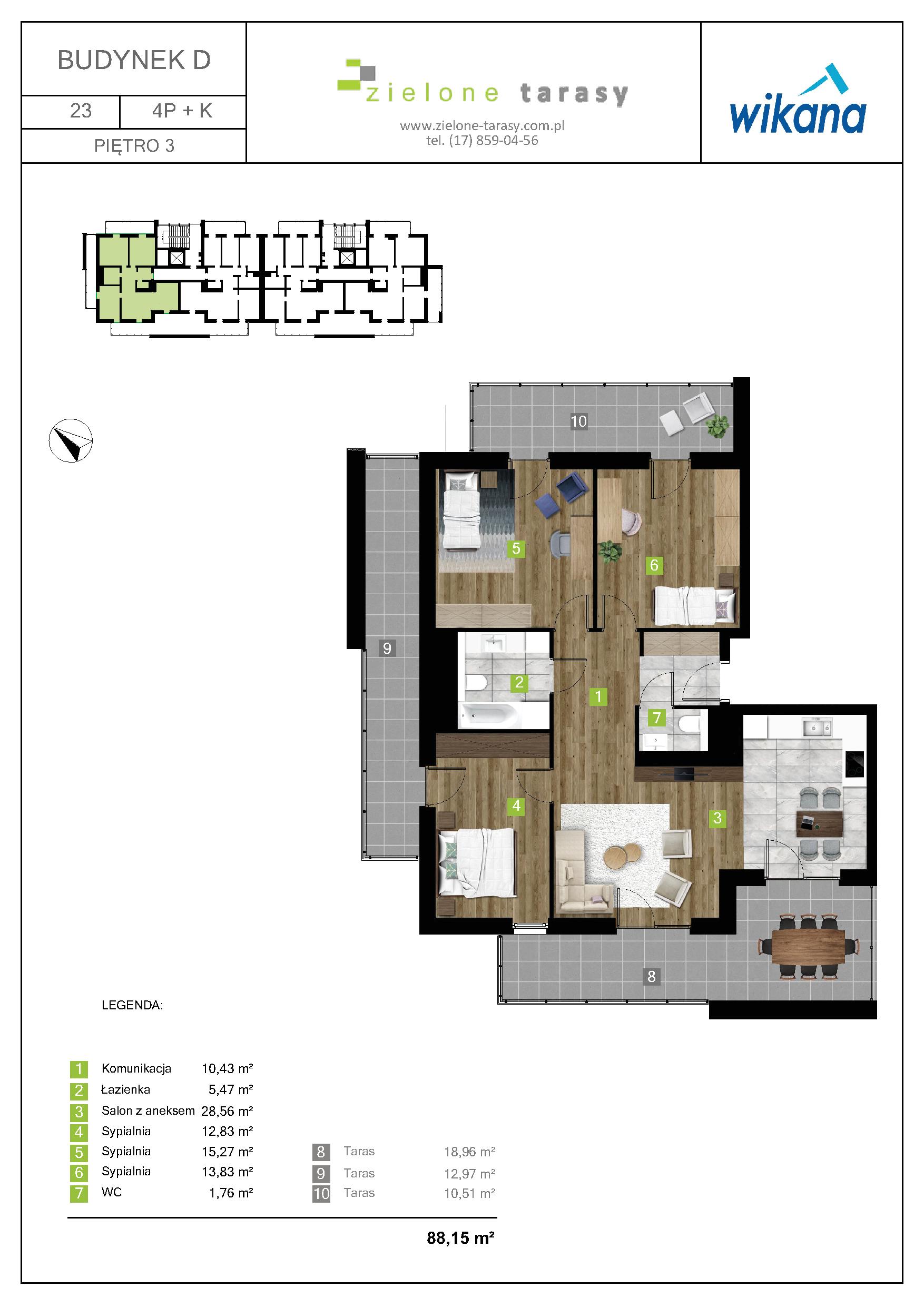 sprzedaż mieszkań rzeszów - D-23