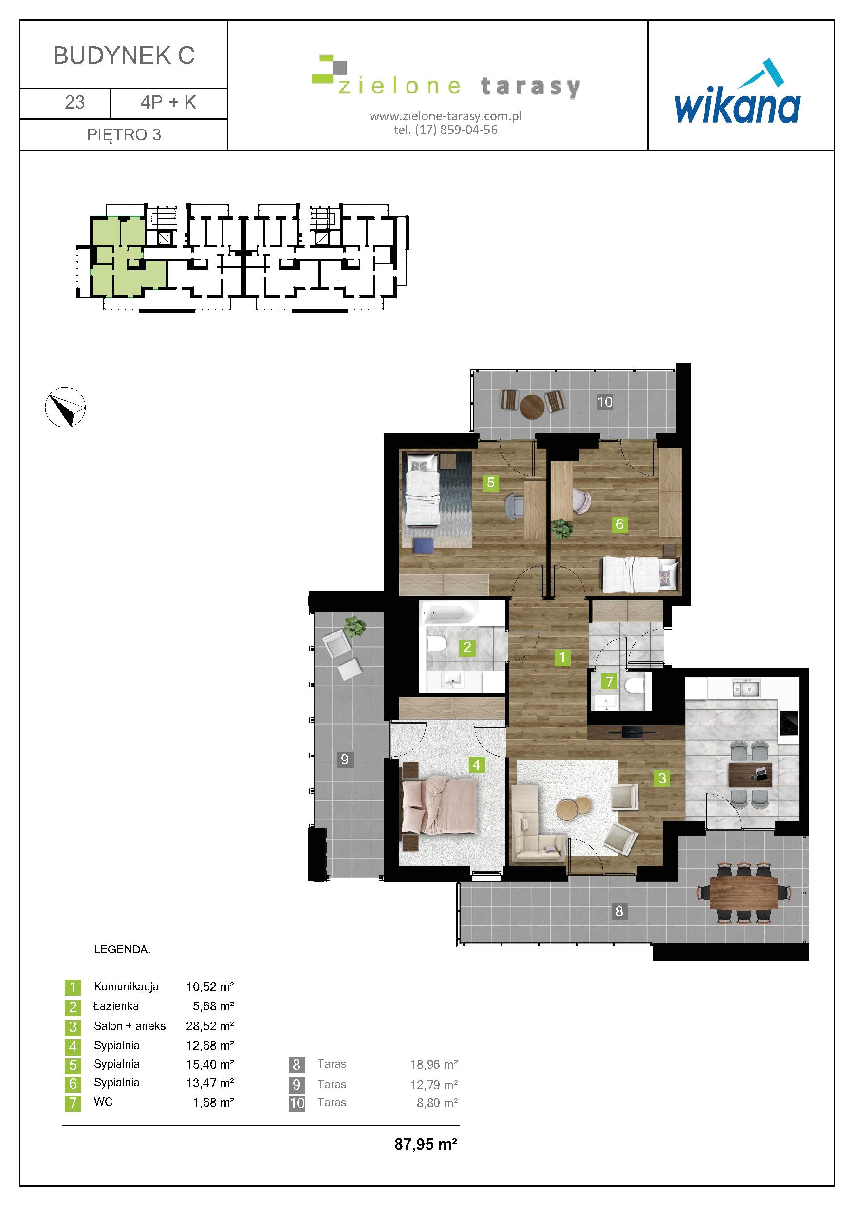 sprzedaż mieszkań rzeszów - C-23