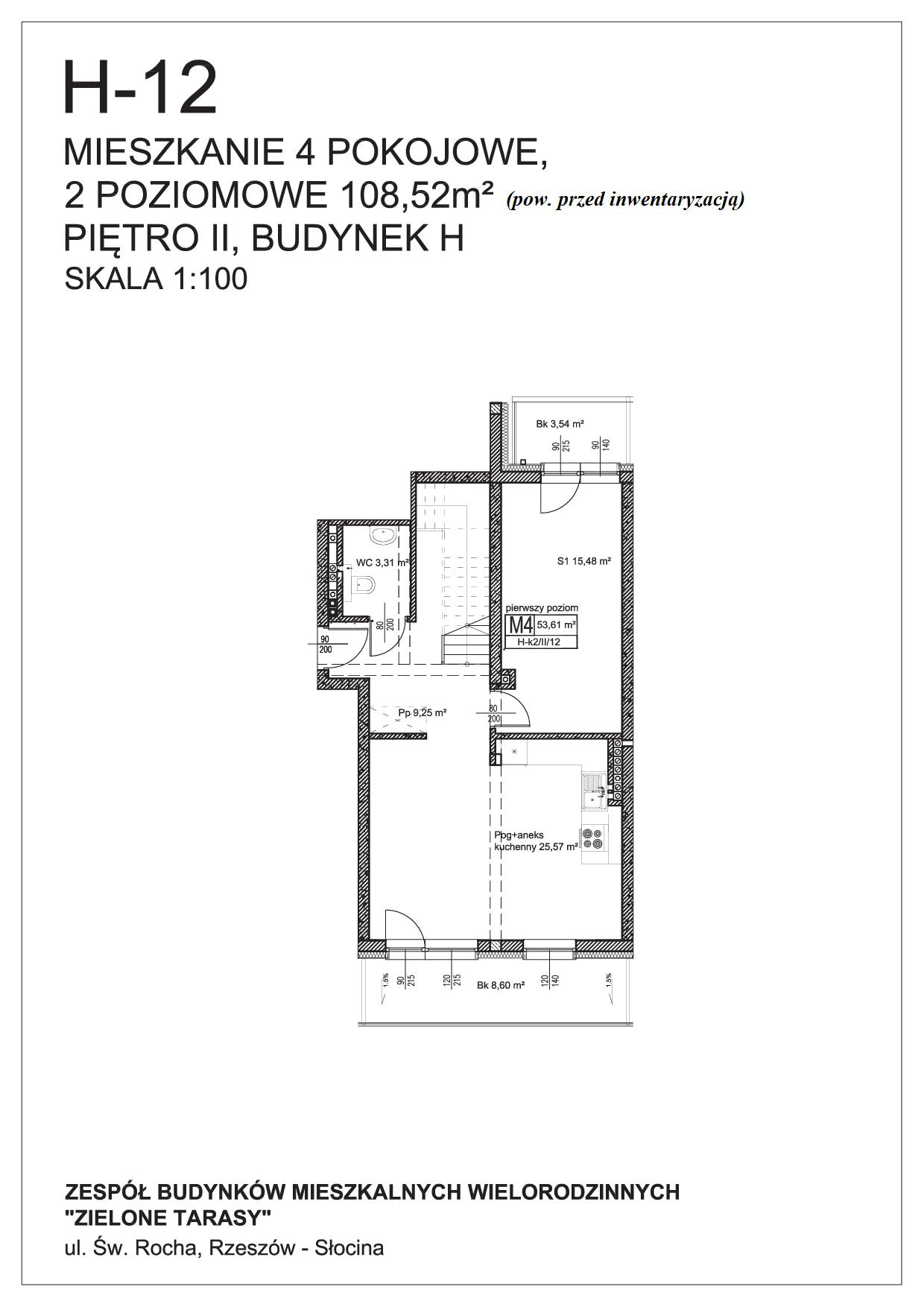 sprzedaż mieszkań rzeszów - H-12