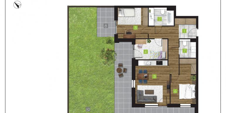 mieszkania na sprzedaż rzeszów  - budynek O - nr 1