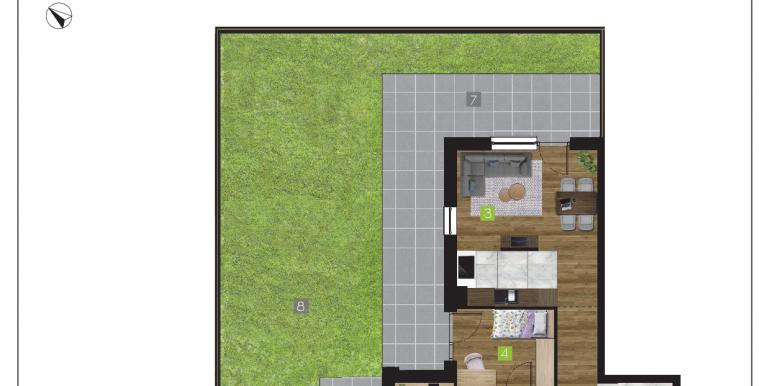 mieszkania na sprzedaż rzeszów  - budynek O - nr 2