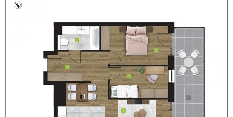 mieszkania na sprzedaż rzeszów  - budynek O - nr 12