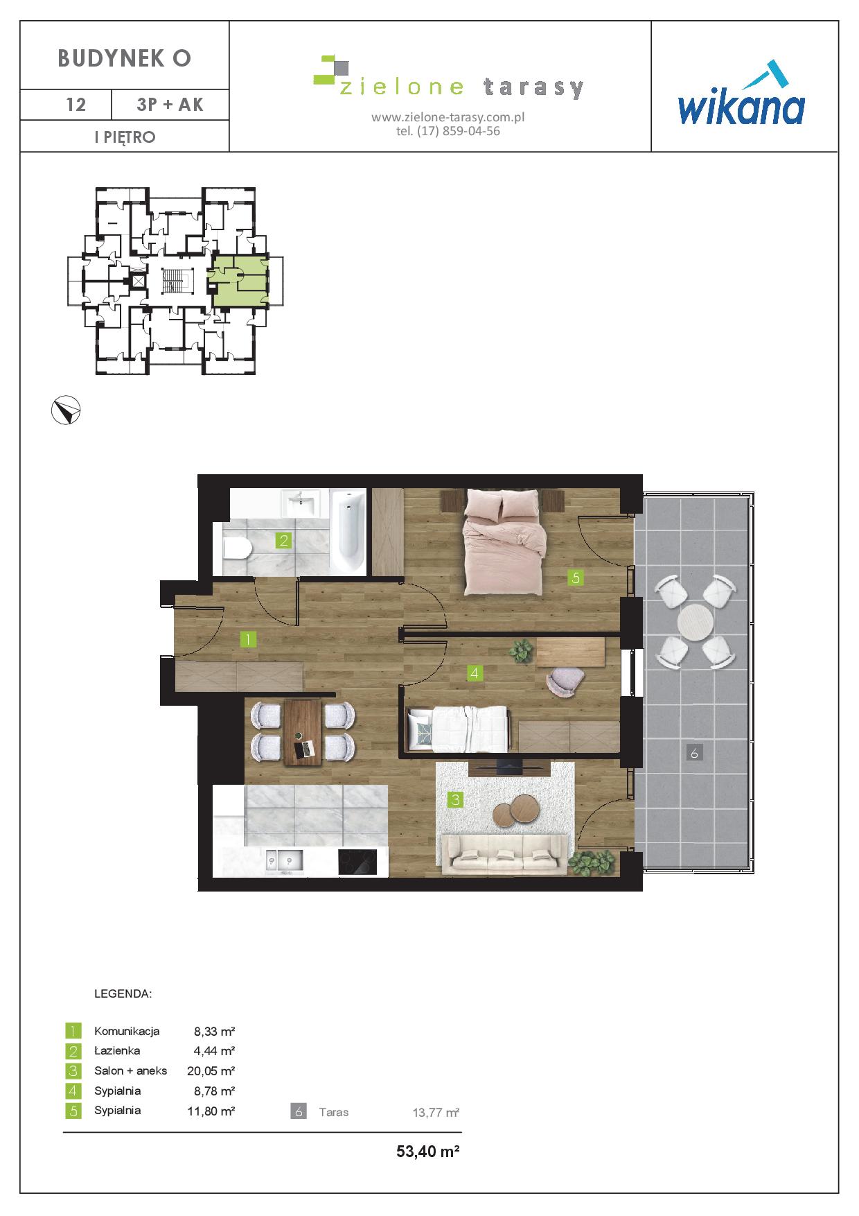 sprzedaż mieszkań rzeszów - O-12