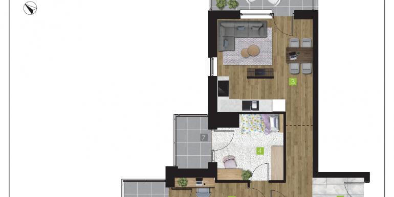 mieszkania na sprzedaż rzeszów  - budynek O - nr 16