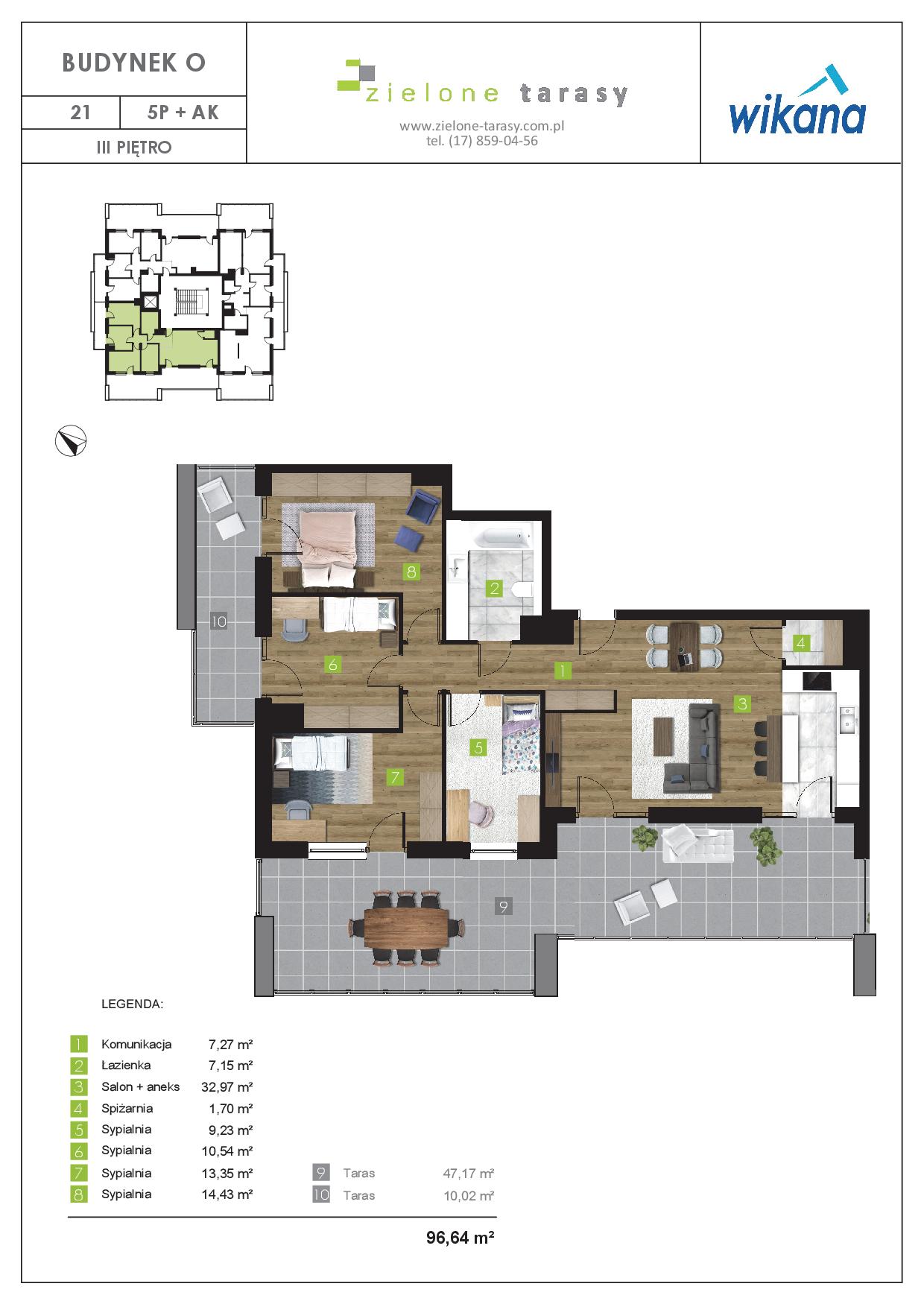sprzedaż mieszkań rzeszów - O-21