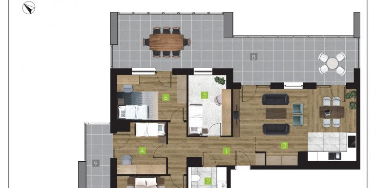 mieszkania na sprzedaż rzeszów  - budynek O - nr 22