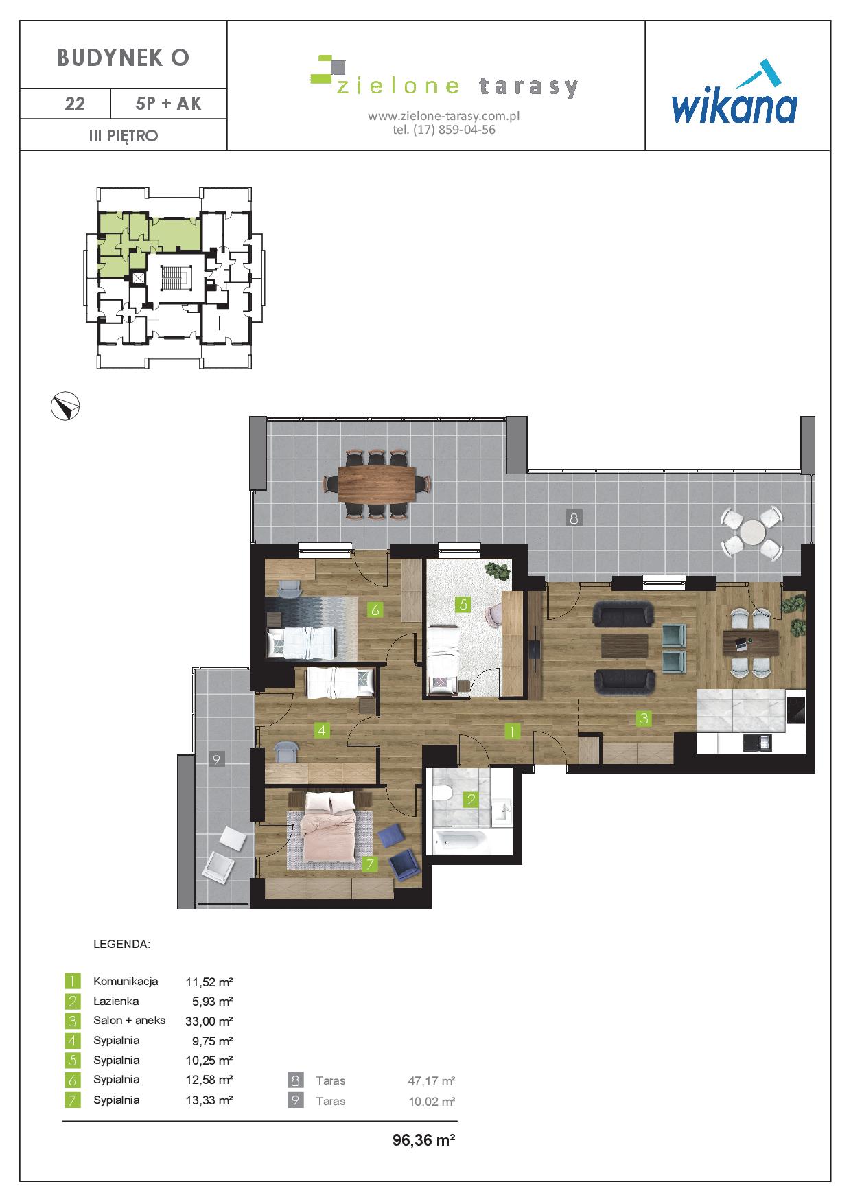 sprzedaż mieszkań rzeszów - O-22