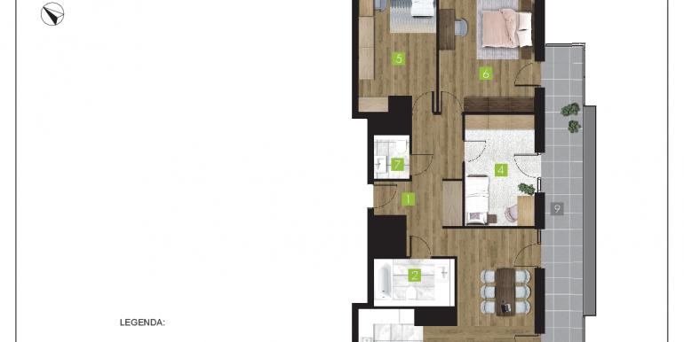mieszkania na sprzedaż rzeszów  - budynek O - nr 23