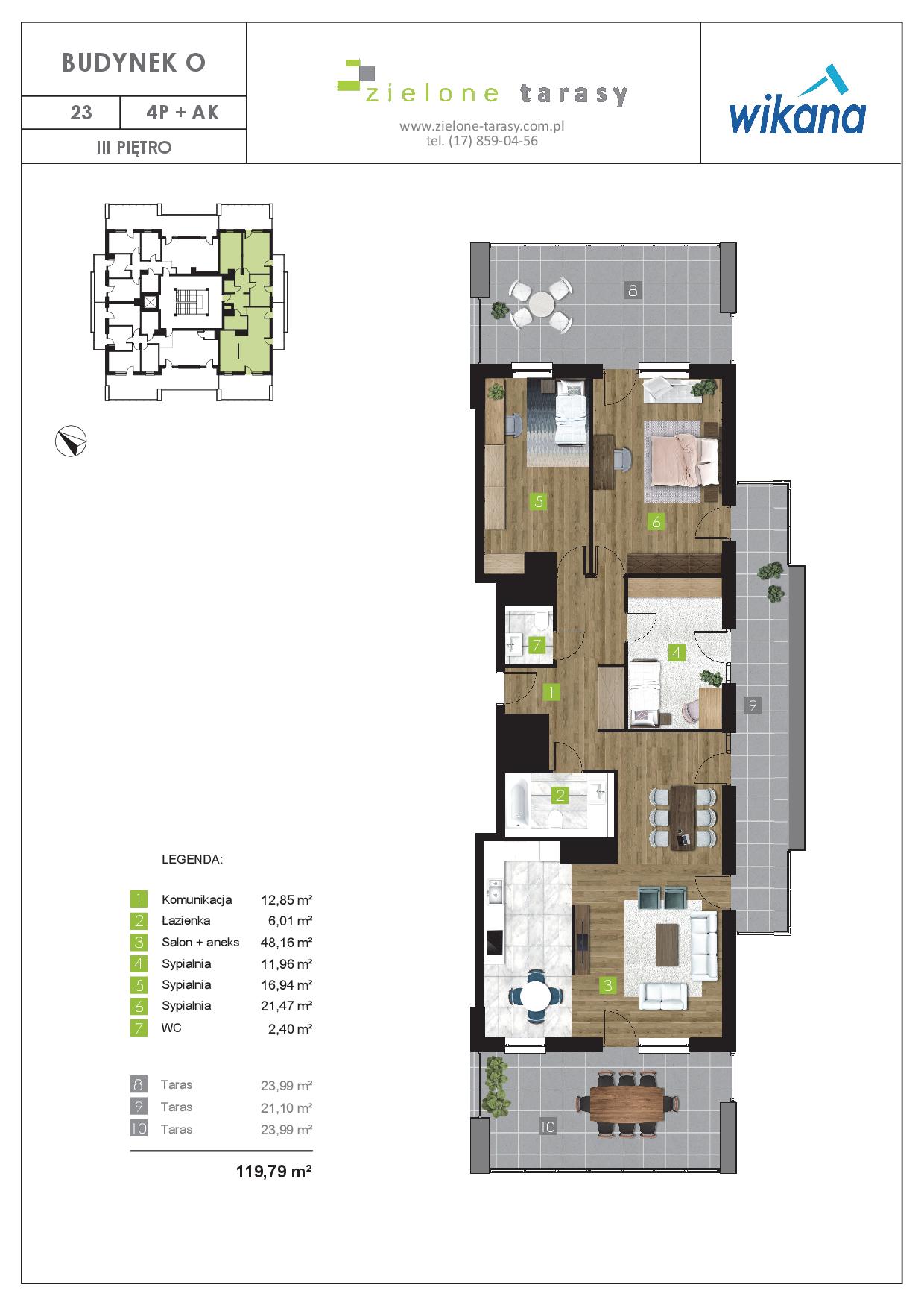 sprzedaż mieszkań rzeszów - O-23