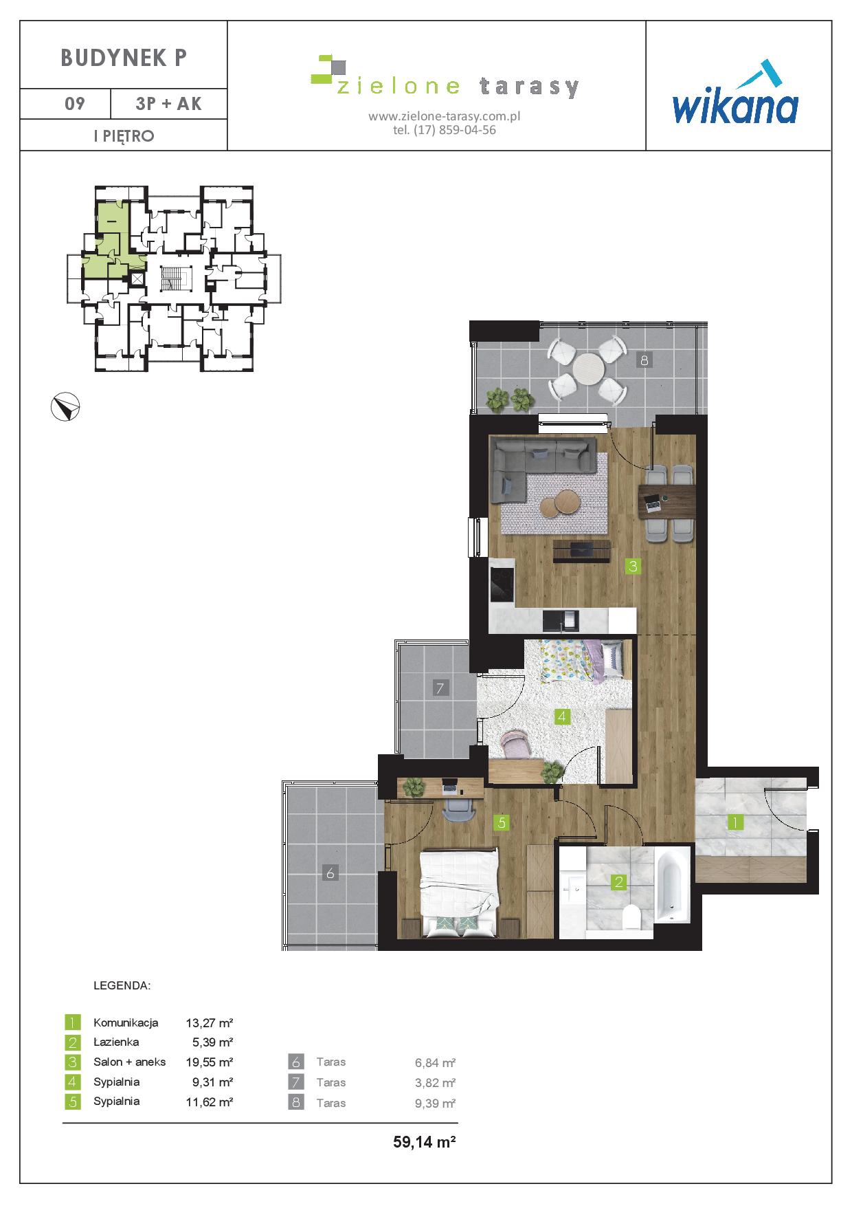 sprzedaż mieszkań rzeszów - P-09