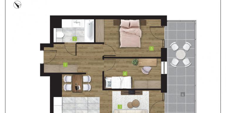 mieszkania na sprzedaż rzeszów  - budynek P - nr 19
