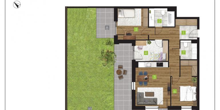 mieszkania na sprzedaż rzeszów  - budynek R - nr 1