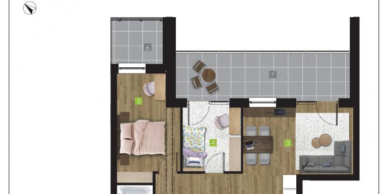 mieszkania na sprzedaż rzeszów  - budynek R - nr 17